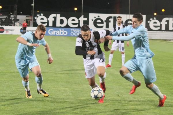 Локомотив Пловдив и Дунав завършиха 2:2 в драматичен мач от