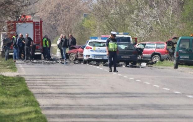 Екип на Plovdiv24.bg е на мястото на тежката катастрофа край