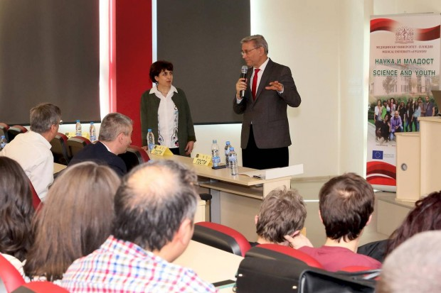 Медицински университет - Пловдив проведе едновременно два от най-престижните си