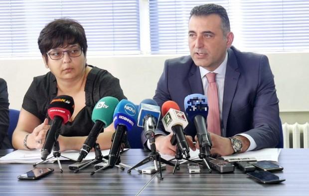 В сградата на Окръжна прокуратура Пловдив се проведе брифинг, на