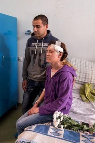 Пострадалата служителка на жандармерията Гергана Зашева, която беше уцелена от