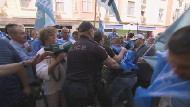 bTV Протестът на служителите на