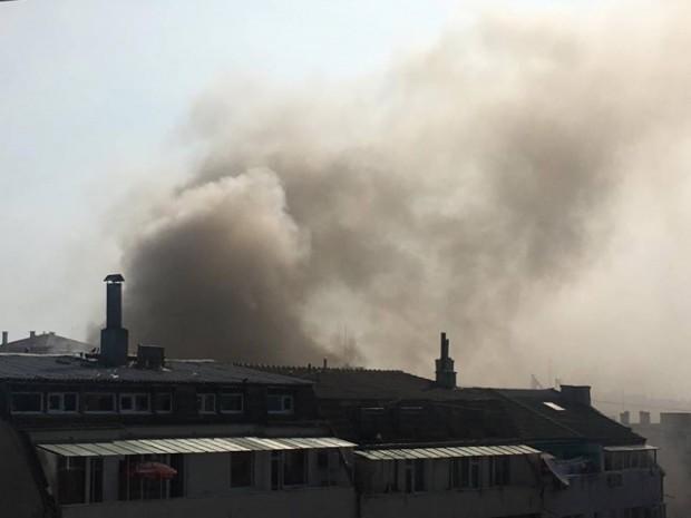 Черно море Полиция, пожарна и линейка са на мястото на голям