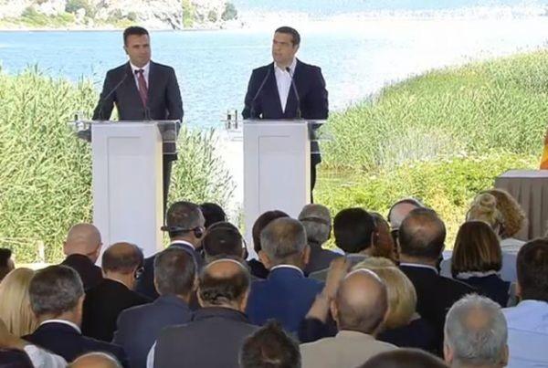 Скопие и Атина подписаха договора за името Северна Македония. Церемонията
