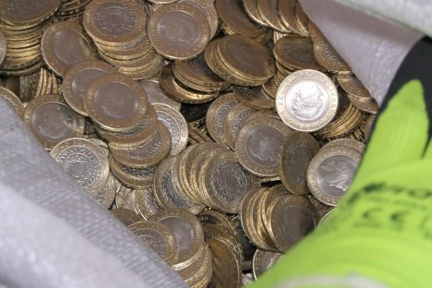 Цехът за фалшиви монети, който разбиха от ГДБОП, се намира