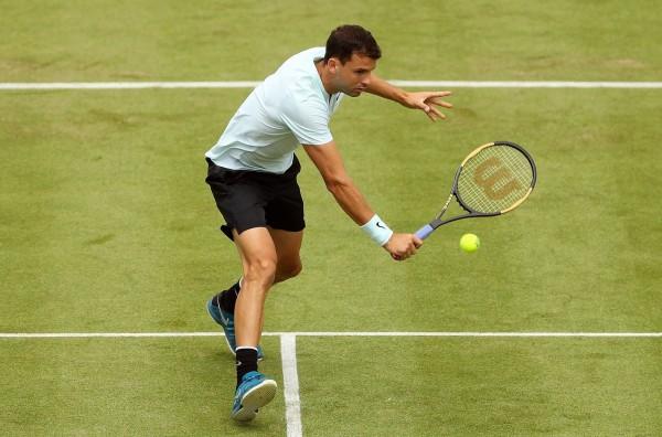 Най-добрият български тенисист Григор Димитров преодоля трудно първия кръг натенистурнира