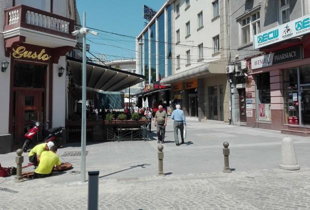 Монтираха и камери на ул.