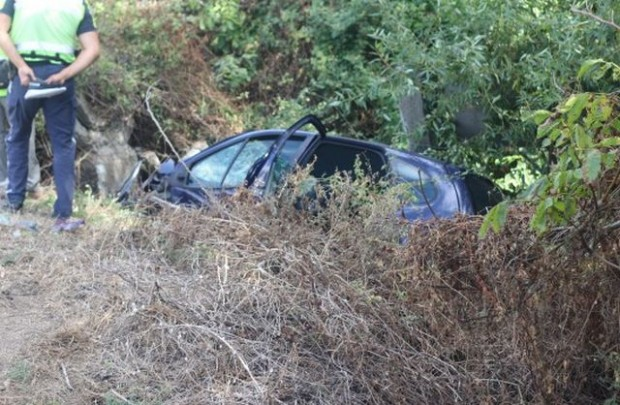 Тежка катастрофа е станала днес следобед по пътя от Пловдив