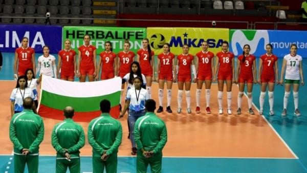 Женският национален отбор на България продължава с неверотното си представяне