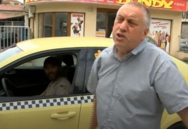56-годишен таксиметров шофьор е бил нападнат от свой клиент в
