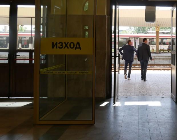 Снимка: Неприятно изживяване за мъж в чакалнята на Централна гара в Пловдив