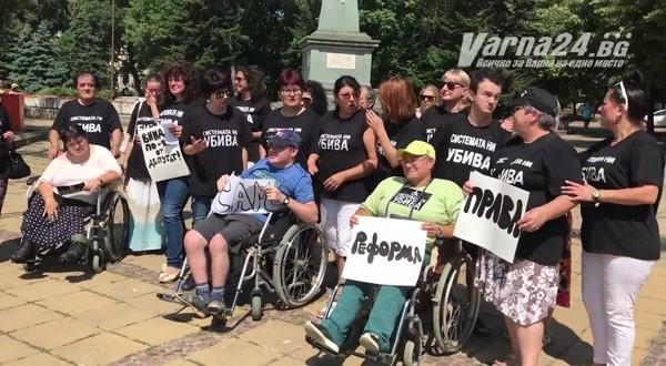 Varna24.bg.След срещата със социалниятминистър Бисер Петков във Варна протестиращите отчетоха