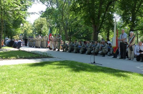 Националните герои, загинали за България да бъдат почитани не с
