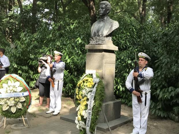 Varna24.bg С тържествен ритуал Варна почете 181 години от рождението