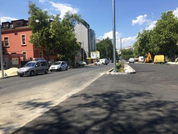 Няма да има официално откриване на трите булеварда -