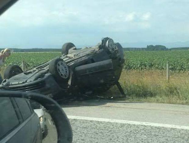 Kатастрофа е станала на пътя Пловдив - Първомай на разклона