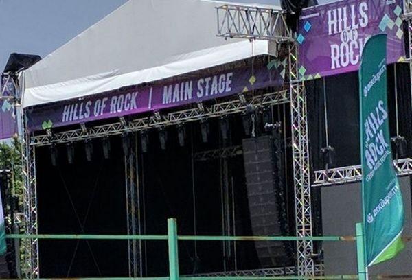 Във връзка с фестивала Hills of Rock, който ще се