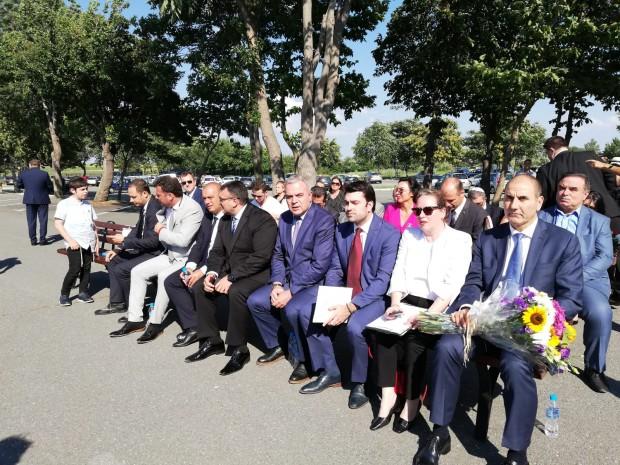 Посланикът на Израел в България н. Пр. Ирит Лилиан и