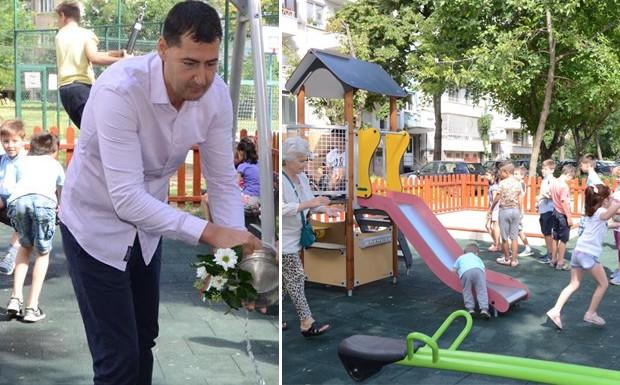Днес кметът на Пловдив Иван Тотев направи символично откриване на