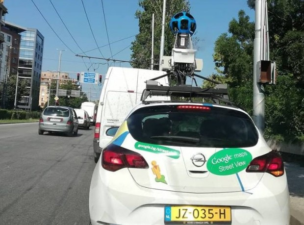 Кола на Google Street View отново снима пловдивските улици, научи