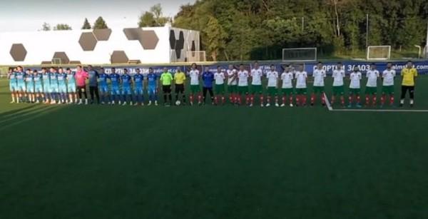 Националният отбор на България по минифутбол завърши 2:2 с Румъния