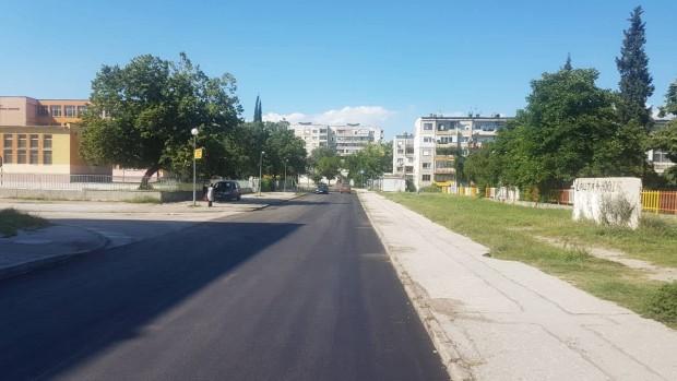 Голям участък от улица