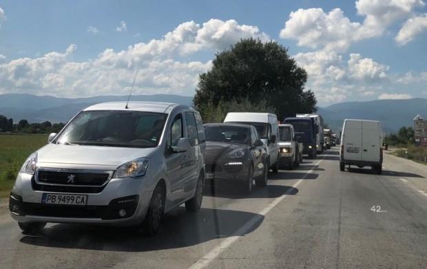 За голяма тапа на Околовръстното шосе на Пловдив, научи Plovdiv24.bg.