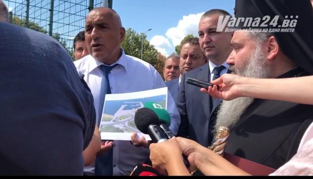 Varna24.bg.Той посети терена, където трябва да бъде изградено новото рибарско