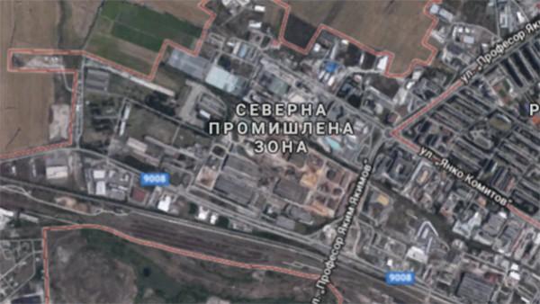 Google Завод в промишлена зона