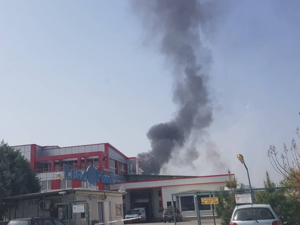 За голям пожар близо до Пловдив научи Plovdiv24.bg. В землището