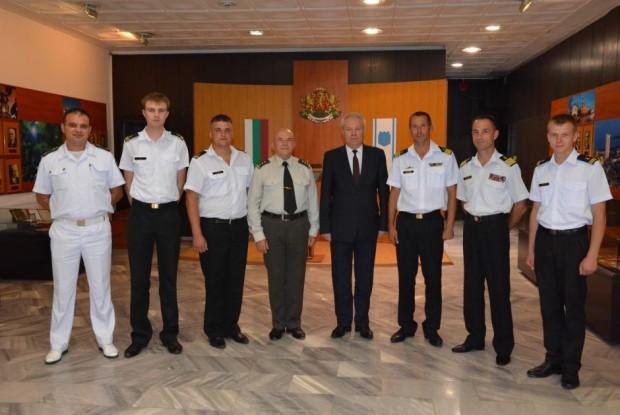 Командири на учебни кораби от състава на Военноморските сили на