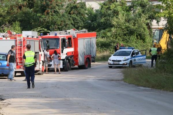 Както вчера Plovdiv24.bg пръв ви информира, пожарен автомобил падна в