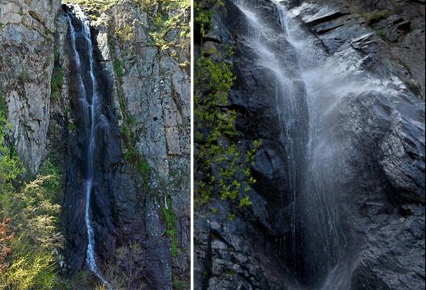 Устински водопадсе намира на склоновете на северни Родопи над малкото