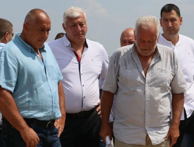 Министърът на културатаБоил Банов, премиерътБойко Борисов, областният управителЗдравко Димитров, кметът