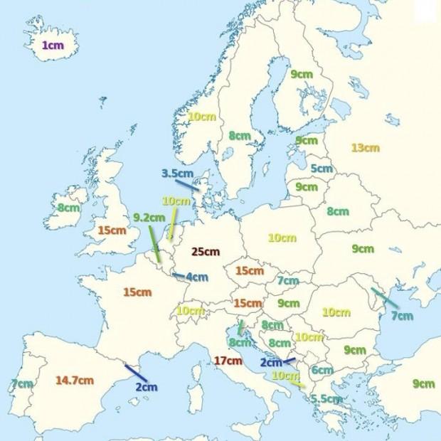 North Meteo Най-едрата градушка, падала някога в Европа е регистрирана в