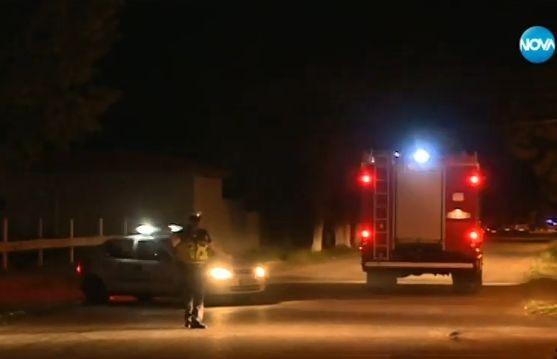 Според първоначалните сигнали, получени снощи около 19.30 часа за прострелян