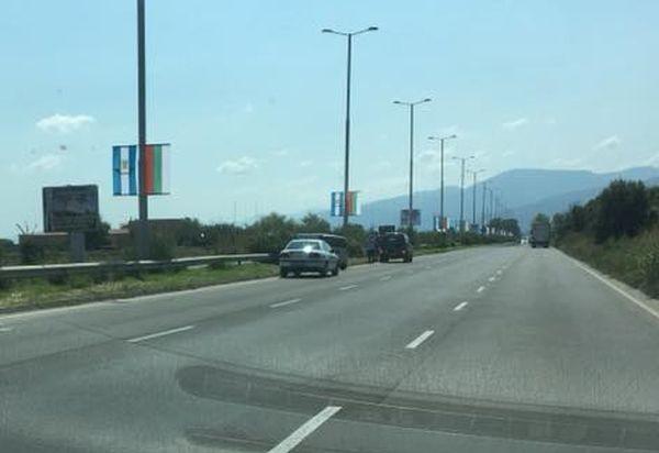 Катастрофа е станала около 12 ч. днес на Асеновградско шосе