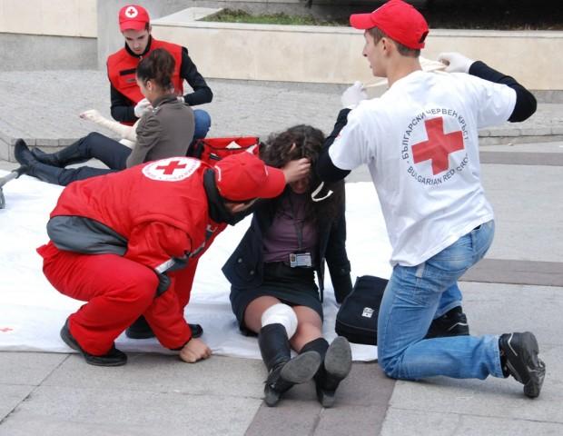 Областната организация на БЧК-Бургас ще отбележи Световния ден на първата
