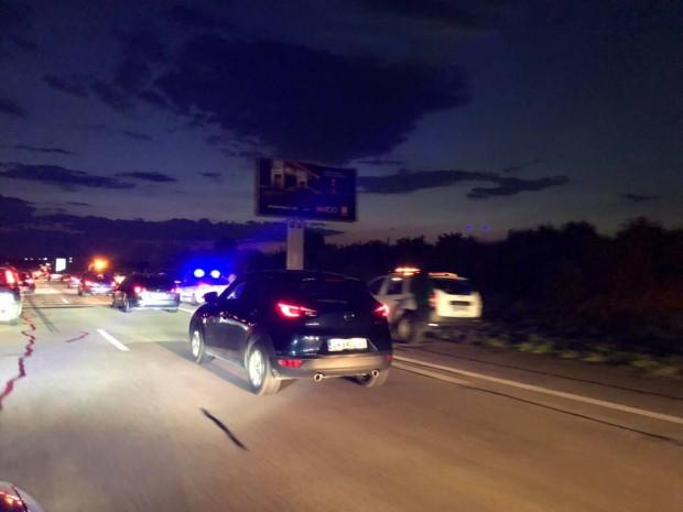 Катастрофа край Пловдив предизвика зверско задръстване на АМ