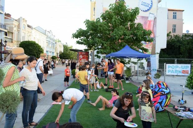 През месец септември POP-UP парк ще обиколи Пловдив, като отново