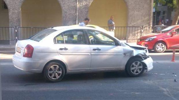 Катастрофа стана днес следобед в Пловдив, съобщи редовен читател на