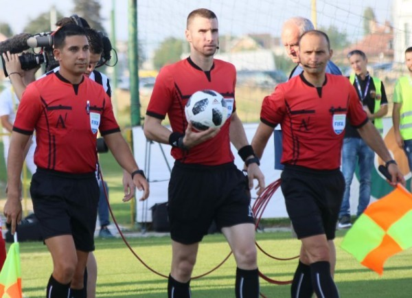 Пловдивският съдия Георги Кабаков ще ръководи мача от груповата фаза