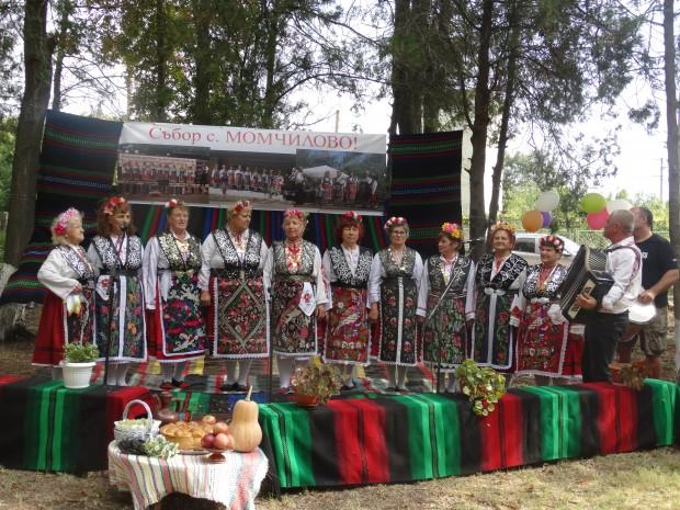 Вчера в с. Момчилово се състоя първият фолклорен събор под