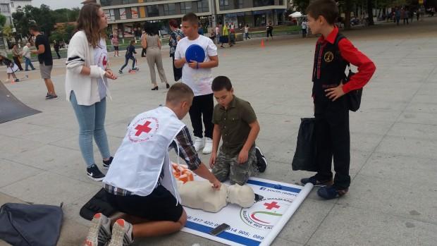 виж галерията Български Червен кръст – Бургас отбелязва месец септември като