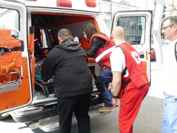 От ПТП-то е пострадала пътуващата в лекия автомобил с варненска