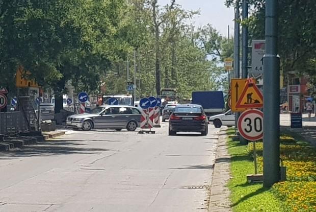 Няма ВиК авария на кръстовището на булевард