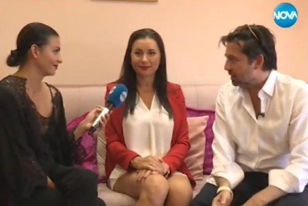 Сексологът Наталия Кобилкина и съпругът й – гръцкият милионер Такис