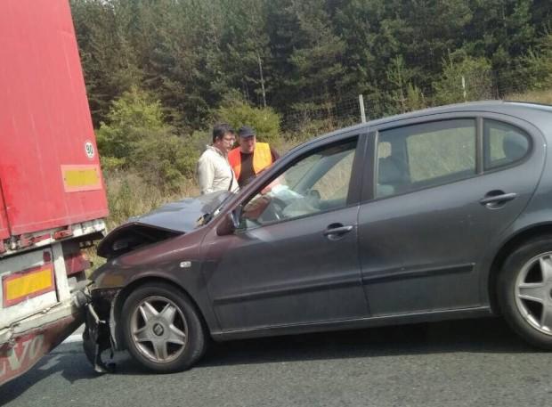 Burgas24.bg виж галерията Поредна катастрофа стана на автомагистрала