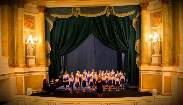 Възпитаниците на детски хор