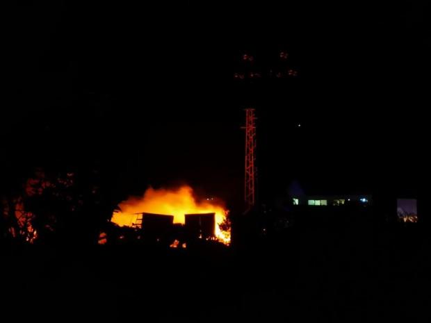 Бали със сено са предизвикали големия пожар в ТЕЦ-Сливен, твърди